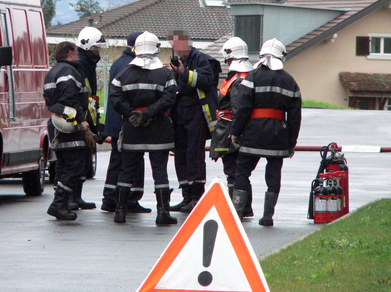 Les sapeurs-pompiers sont parvenus à contenir le feu au rez-de-chaussée de la maison mitoyenne (Photo d'illustration)