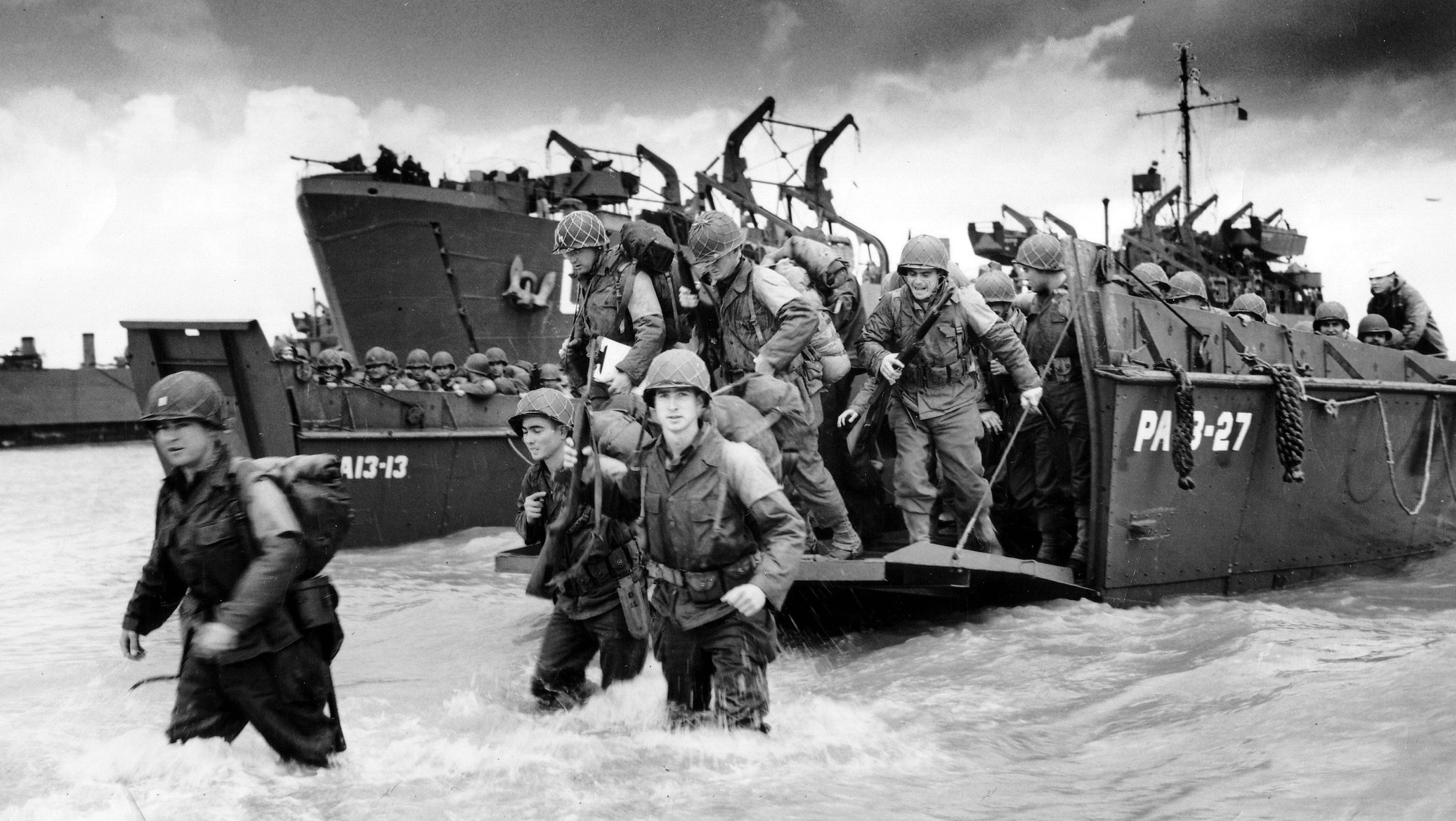 Operation Overlod 130 000 Soldats A L Assaut Des Plages De Normandie Et De La Muraille De Feu Allemande