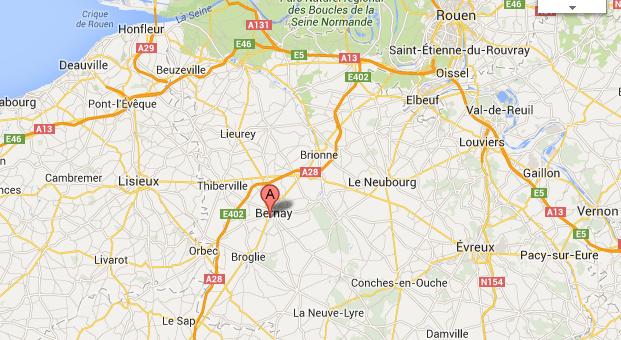 L'anniversaire vire au drame à Bernay : deux jeunes gens blessés grièvement en tombant d'un toit