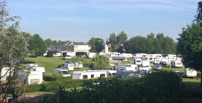 La présence de caravanes des gens du voyage déplaît aux habitants de Mesnil-Esnard et de Franqueville-Saint-Pierre ainsi qu'aux riverains du terrain occupé (Photo DR)
