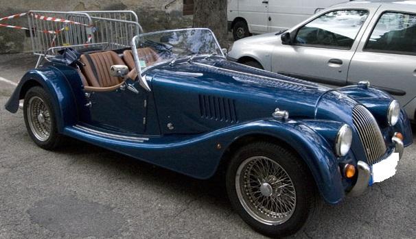 Lors des perquisitions, les gendarmes ont découvert une Morgan d'une valeur de 35 000 euros (Photo d'illustration)