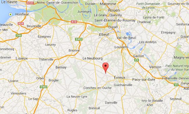 Drame familial près d'Evreux ? Trois morts et deux blessés graves découverts ce matin dans une maison