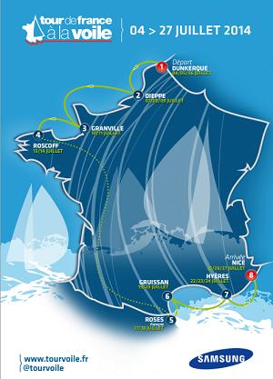 Tour de France à la voile : le top départ est donné ce vendredi à Dunkerque