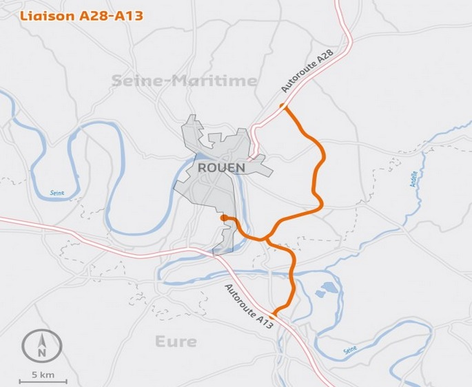 Contournement Est de Rouen : dernière réunion de concertation le 9 juillet