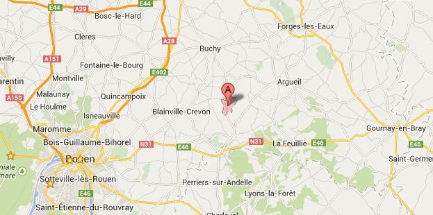 Rebets, 140 habitants, est d'ordinaire un village tranquille situé dans le canton de Buchy