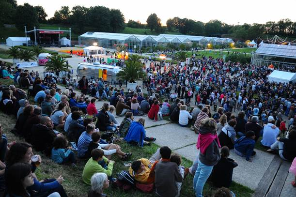 Le festival s'est déroulé dans un cadre d'exception que sont les Jardins suspendus (Photo DR)