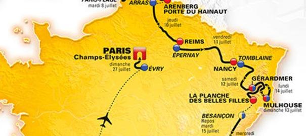Dernière étape du Tour de France entre Evry et Paris : restrictions de circulation dimanche