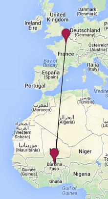 L'appareil a disparu des écrans radar 50 minutes après son décollage de Ouagadougou, dans la nuit de mercredi à jeudi