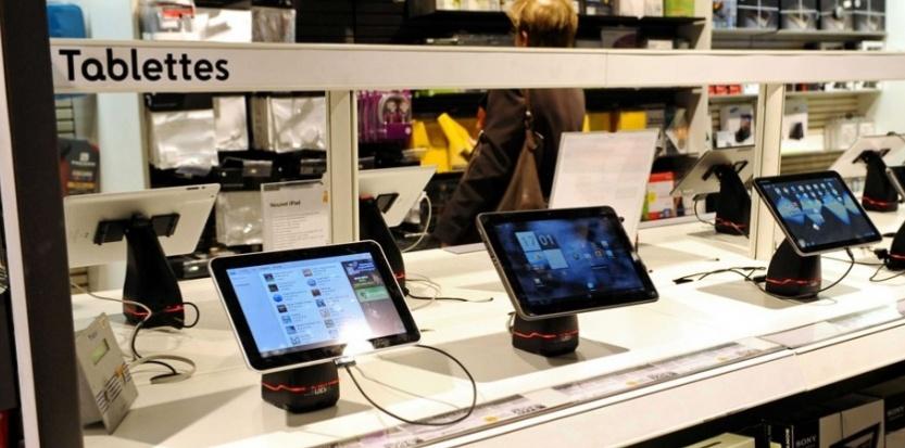 Le voleur était très attiré par les tablettes. Il pouvait les revendre un bon prix et facilement (Photo d'illustration)