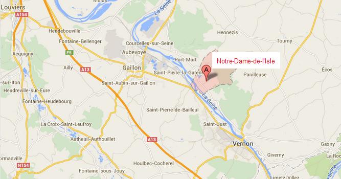 Thibaut Beauté, la victime, est maire de Notre-Dame-de-l'Isle, une commune d'à peine 700 âmes