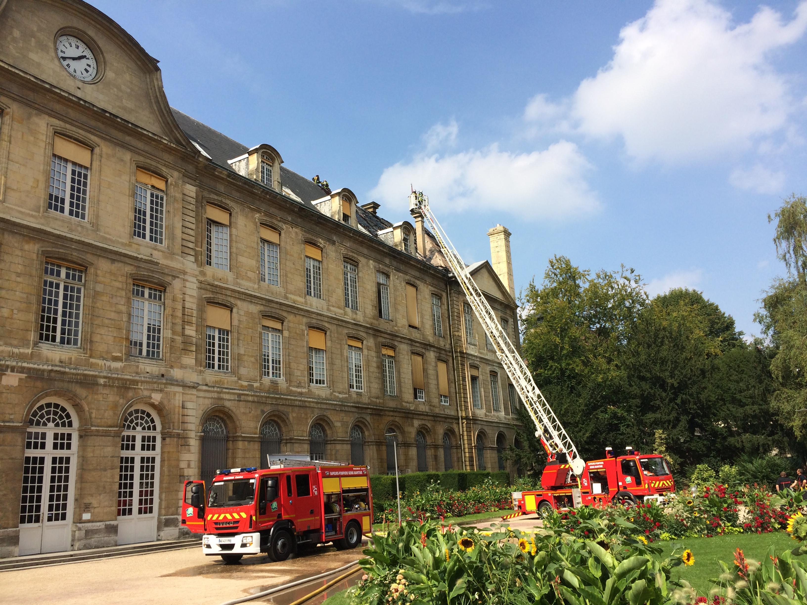 90 pompiers sont mobilisés (Photo DR)