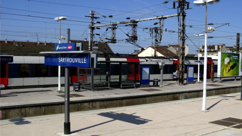 La gare du RER A de Sartrouville (Photo d'illustration)