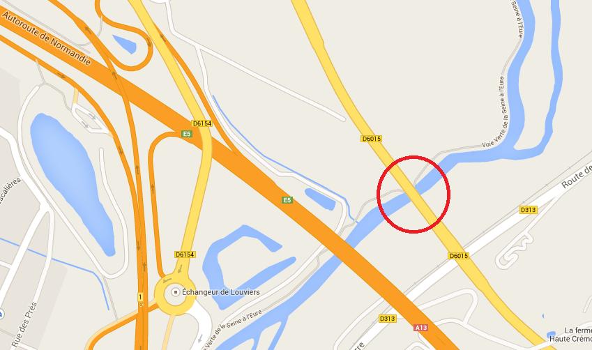 Travaux sur la RD 6015 : circulation alternée pour franchir le pont entre Gaillon et Pont de l'Arche