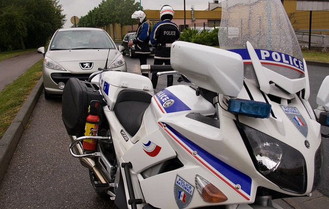 Les motards de l'Unité de sécurité routière de la police ont traqué les contrevenants à Saint-Germain-en-Laye et Elancourt (Photo d'illustration DGPN)