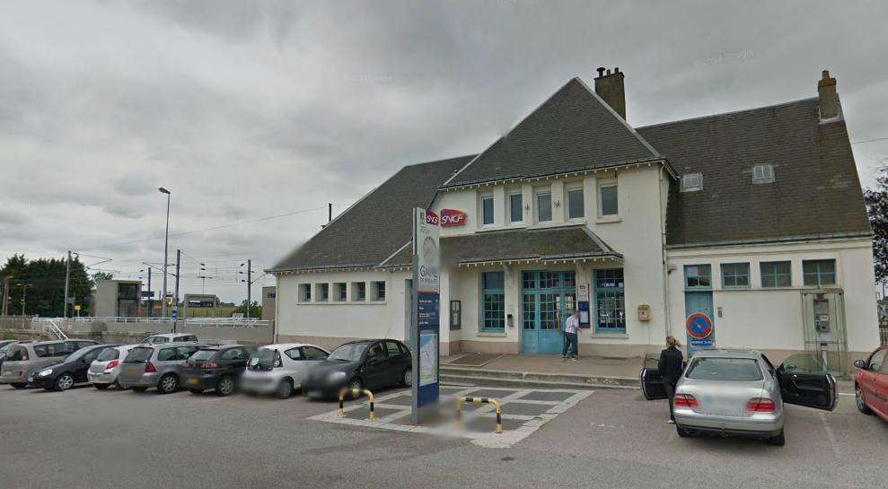 La gare de Bréauté