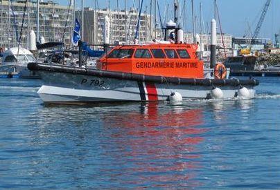 La victime a été pirse en charge et ramenée au port du Havre à bord de la vedette de la gendarmerie maritime (Photo d'illustration)