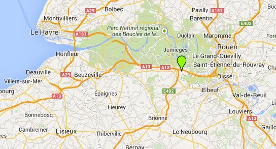 Un camion-citerne couché sur l'A13, dans l'Eure, son conducteur est sérieusement blessé
