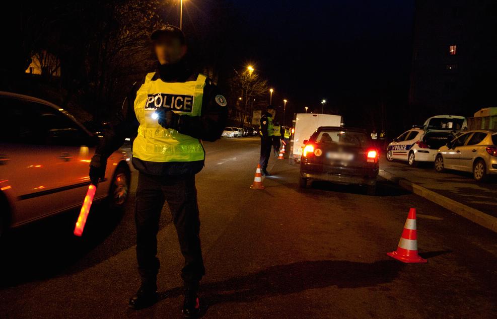En quelques heures, police-secours a contrôlé dans le centre-ville de Rouen, trois automobilistes en état d'ivresse au volant (Photo d'illustration DGPN)