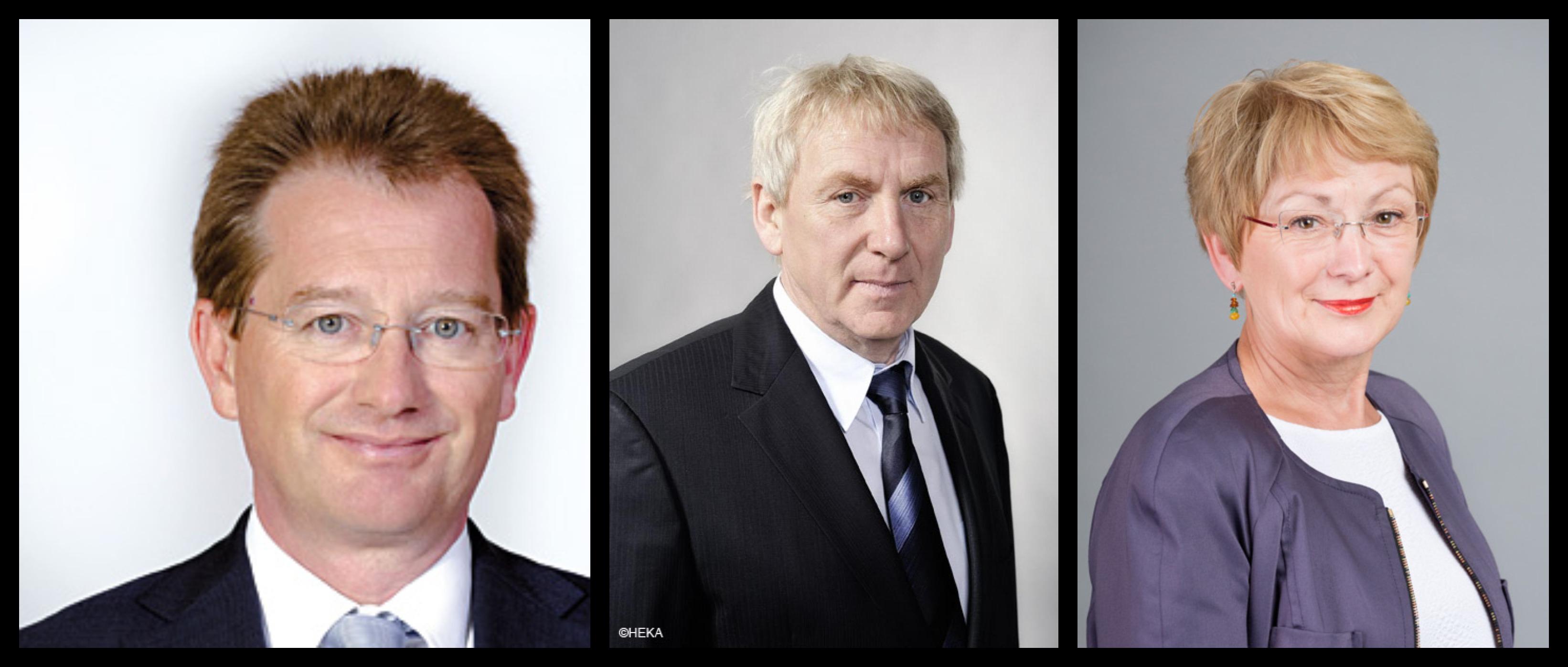 Les élus de gauche : Ddier Marie, Thierry Foucaud, Nelly Tocqueville