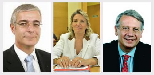 Les élus dans l'Eure : Hervé Maurey, Nicole Duranton, Ladislas Poniatowski