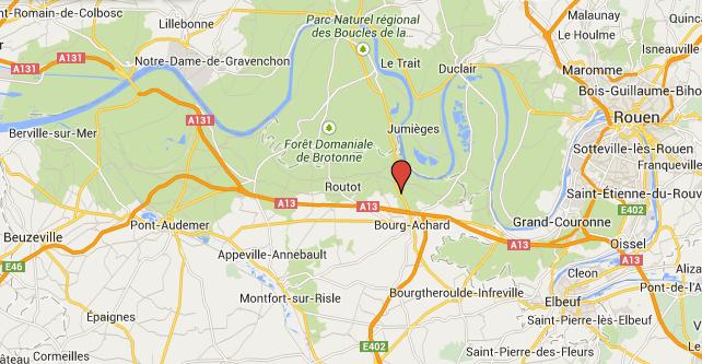 Un motard tué, sa passagère grièvement blessée dans une collision sur une route de l'Eure