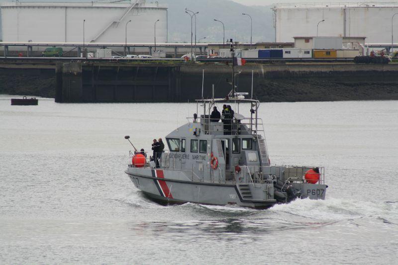 La vedette de la gendarmerie maritime a participé aux recherches (Photo d'illustration)