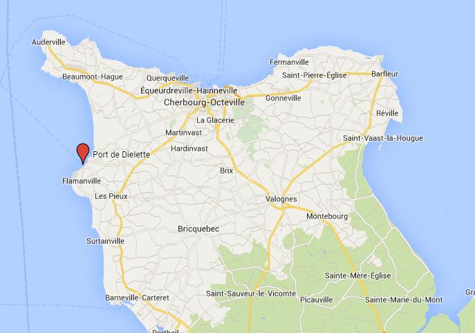 Manche : pollution dans le port de Dielette interdit d'accès ce dimanche soir