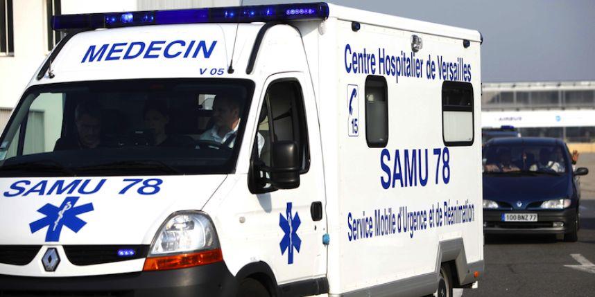 La victime a reçu les premiers soins d'urgence sur place par l'équipe du SAMU, avant de pouvoir être transportée à l'hôpital (Photo d'illustration)