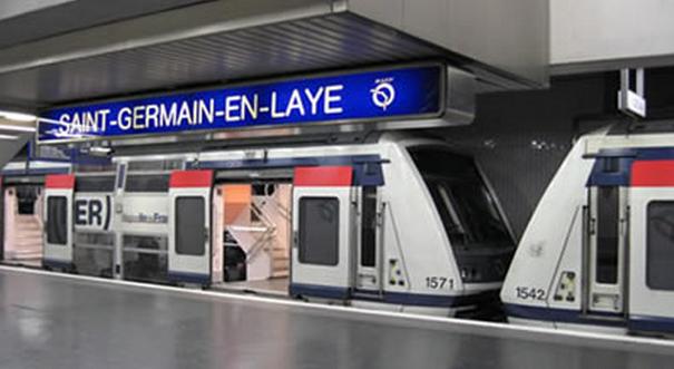 Le pot de peinture suspect, qui contenait en réalité des fils électriques, a été découvert sur le quai n°2 de la gare du RER A