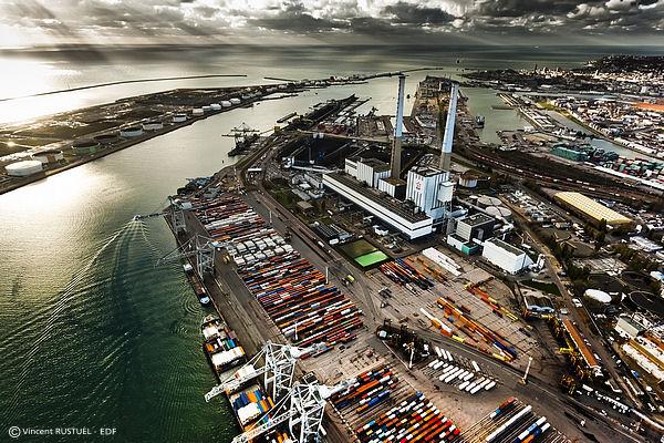 La centrale thermique du Havre (Photo EDF)