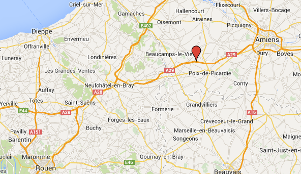 Un poids-lourd couché sur l'A29 : déviation obligatoire en direction de Rouen