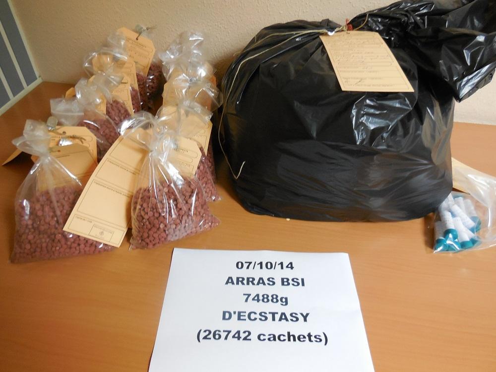 La valeur de la marchandise est estimée à plus de 200 000 euros sur le marché illicite de la revente au détail de stupéfiants.