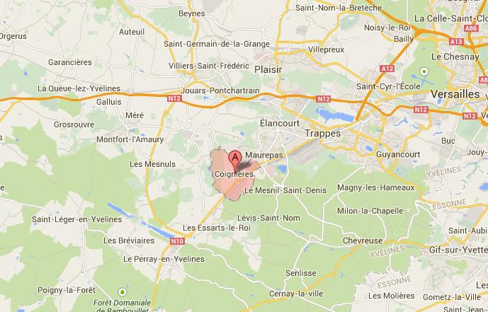 Deux piétons tués par une voiture en traversant la RN10 dans les Yvelines