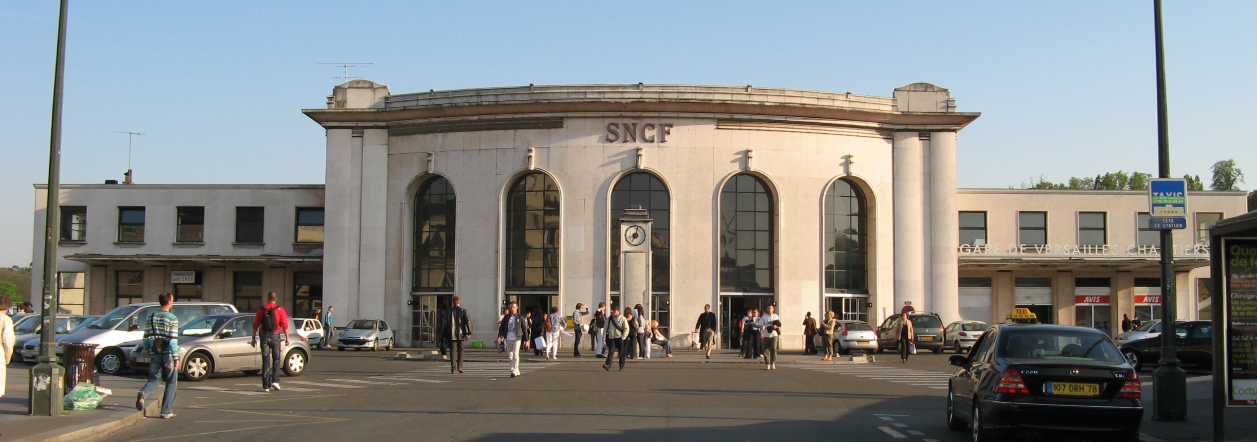 La gare de Versailles Chantiers (Photo d'illustration)