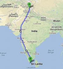 La traversée de l'Inde à pied : le pari (un peu) fou d'un Haut-Normand