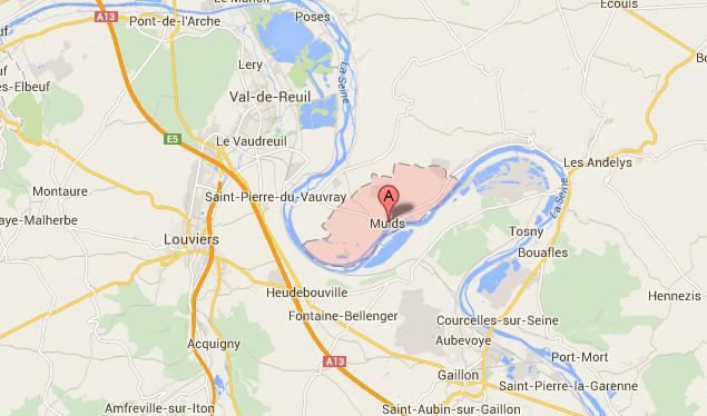 Le cadavre d'une femme repêché dans la Seine, entre Les Andelys et Louviers