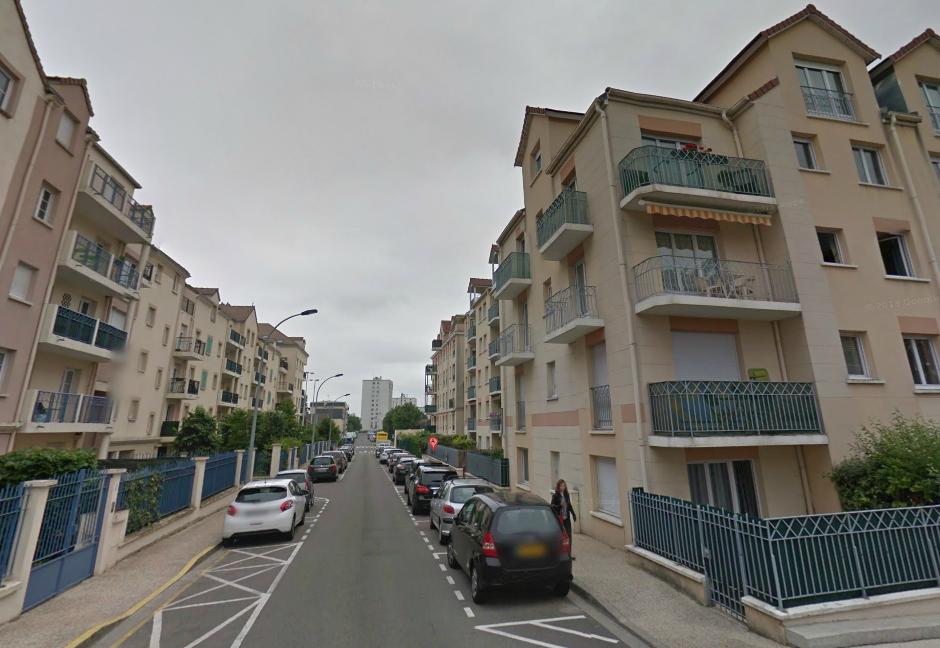 L'accident est survenu dans un des immeubles de la rue du Stade, qui jouxte le stade Léo-Lagrange (Illustration @Google Maps)