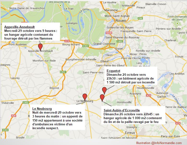 Cliquez sur la carte pour l'agrandir illustration @infoNormandie