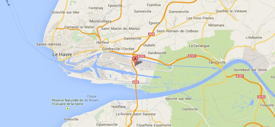 Un piéton tué par un véhicule ce soir route industrielle à Sandouville
