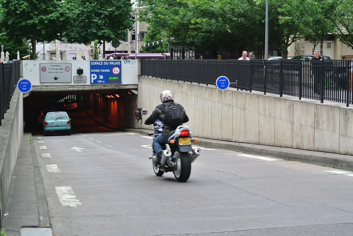 L'entrée du tunnel Saint Herbland côté rue Jean Lecanuet (Photo d'illustration)