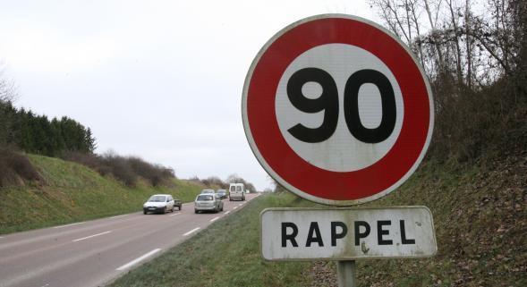 A 159 km/h sur une route limitée à 90 km/h à Val de Reuil