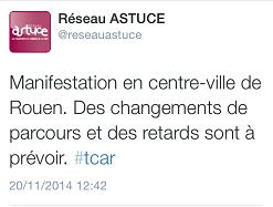Rouen. Nouvelle manifestation en hommage à Rémi Fraisse ce jeudi matin