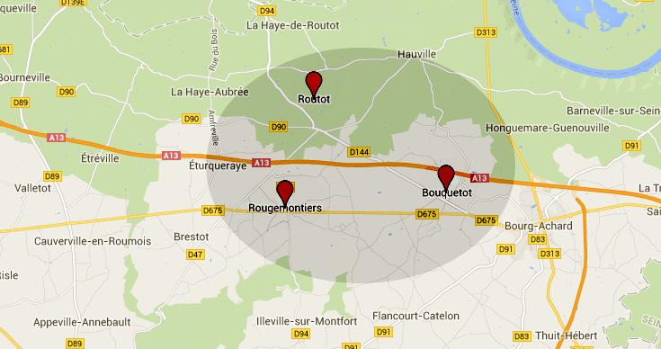 Mis en fuite par le déclenchement de l'alarme de la maison qu'il cambriolait à Bouquetot, le cambrioleur présumé a été arrêté à Rougemontiers sur son vélo. Il est soupçonné d'une vingtaine de vols par effraction dans le canton de Routot.