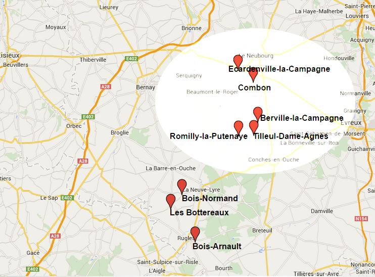 Dans la nuit du 11 au 12 novembre, cinq mairies situées entre Brionne - Le Neubourg - Beaumont-le-Roger et Conches-en-Ouche ont été visitées par d'étranges cambrioleurs. La nuit précédente, celles de Bois-Normand, Bois-Arnault et des Bottereaux, plus au sud de l'Eure, avaient été fracturées également