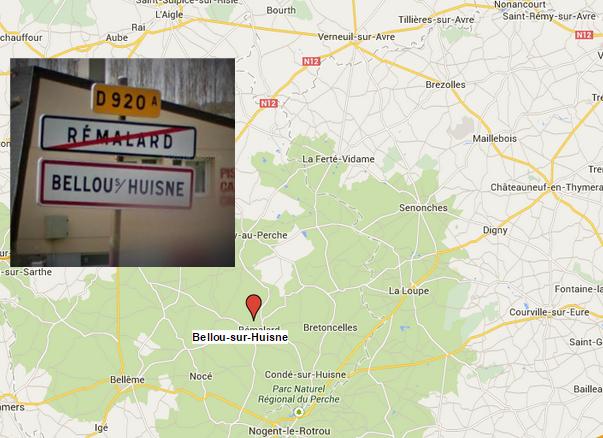 Les deux suspects ont été interpellés séparément et alors qu'ils étaient à pied dans le bourg de Bellou-sur-Huisne, près de Rémalard, à plus de 80 kilomètres de la frontière avec l'Eure