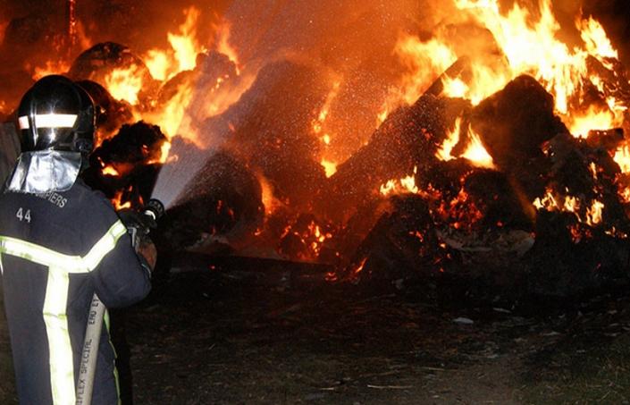 Les sapeurs-pompiers avaient dû, ces derniers mois, intervenir sur plusieurs feux suspects et dont les auteurs, selon l'enquête de gendarmerie, seraient quatre jeunes gens (Photo d'illustration)