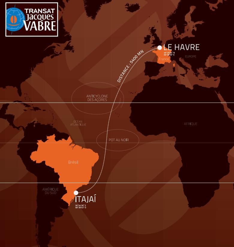 Transat Jacques Vabre : la 12e édition partira du Havre ...le 25 octobre 2015