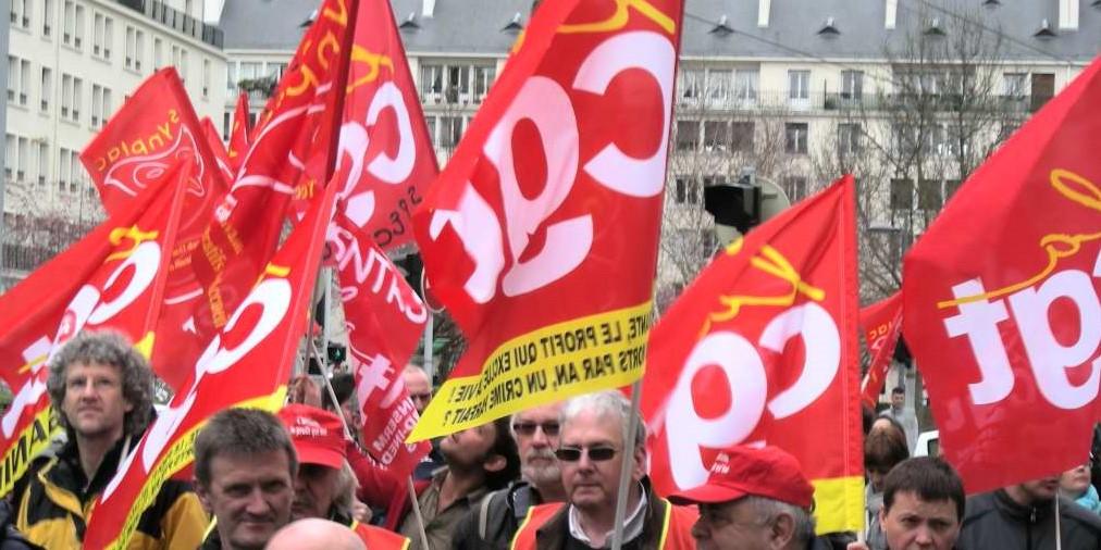 """Rouen : manifestation ce matin de la CGT contre """"la casse de l'emploi"""""""