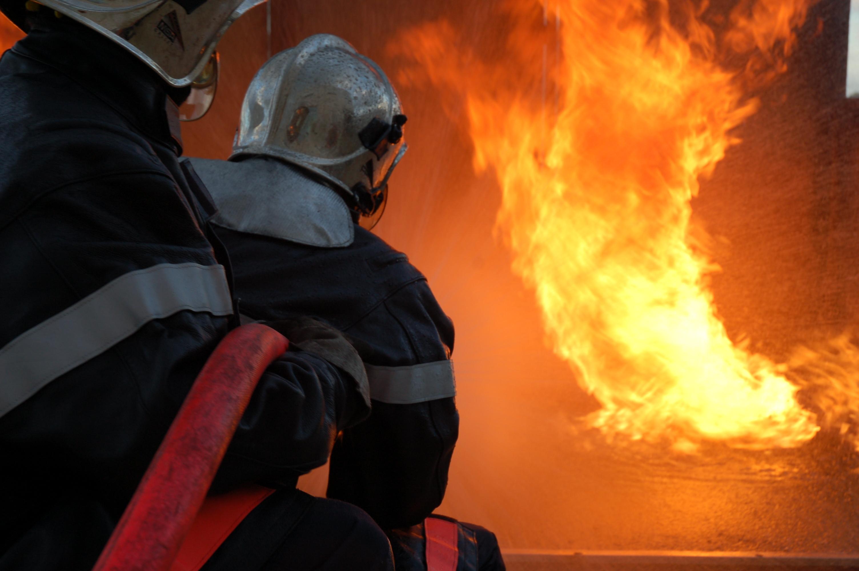 Lorsque les pompiers ont pénétré dans l'appartement, occupés par un père et son fils, ils ont découvert une brouette en feu au milieu du salon (Photo d'illustration DR)