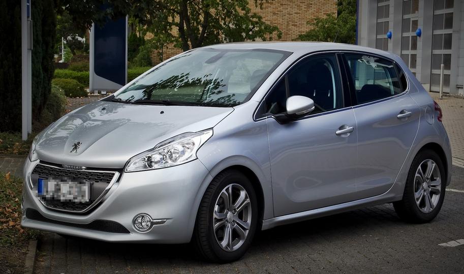 Le véhicule promis par le ministre - il s'agit d'une Peugeot 208 grise - a été livré fin novembre au commissariat d'Elbeuf (Photo d'illustration)